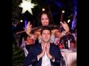 Novak Djokovic Martina Cancio at the Dubai Players Party