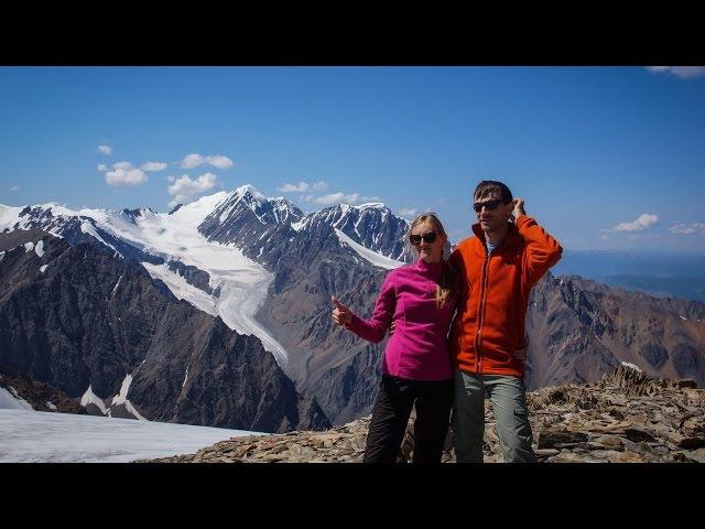 Радиалка на Купол Трех Озер с альплагеря Актру Северо Чуйский хребет
