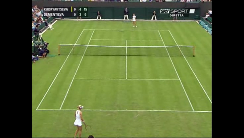 Wimbledon 2009 Round 1 | Elena Dementieva - Alla Kudryavtseva