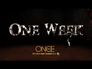Feel the heat rising. #OnceUponATime is back in ONE WEEK!