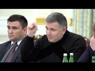 армянин-украинец Аваков и грузин-украинец Саакашвили делят награбленное!