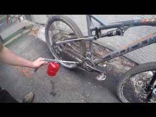 Правильная мойка велосипеда