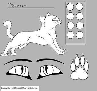 коты воители манекены картинки