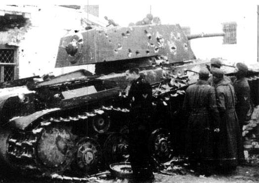 Июнь 1941 года: Один танк против армии