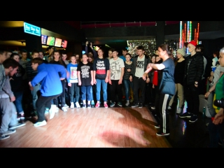 Ghetto Noise vol.10. HIP-HIP PRO 2*2 (OLD SCHOOL+NEW SCHOOL) FINAL. Азамат и Расти vs. Луиза и Коробок (win).