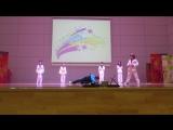 Показательные шоу выступления по тхэквондо гимназия №40 19.12.2015 г. Калининград