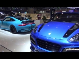 Porsche Panamera Turbo S TechArt Grand GT at Geneva 2016