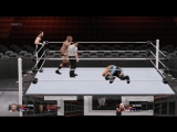 WWE 2K15 Randy Orton and Dean Ambrose vs Seth Rollins and Big Show