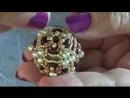 Come realizzare una sfera rivestita con superduo e perline