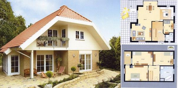 Фото: Строительство одноэтажного жилого дома
