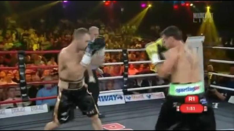 2014-12-03 Jarrod Fletcher vs Daniel Geale (vacant PABA interim WBO Asia Pacific Middleweight Title)