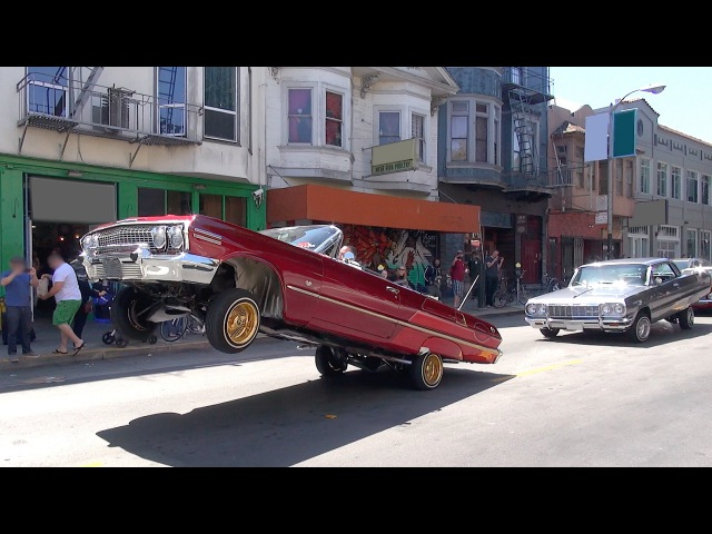 Lowriders and other vehicles Cesar Chavez Day Parade San Francisco 2015 Part 2