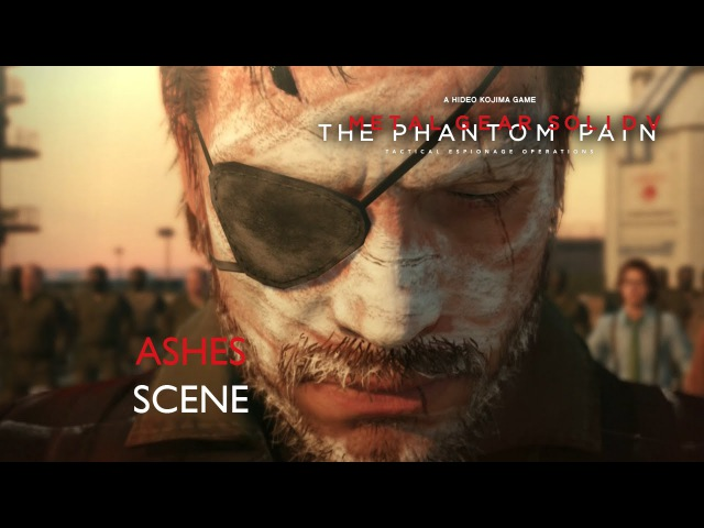 Metal Gear Solid V: The Phantom Pain Ashes Scene