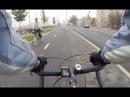 Велодорожка на Новодевичьей набережной