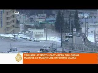 Крупнейшее Землетрясение в Японии 11.03.2011/Earthquake in Japan