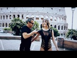 Shredded With Adam Saaks Designs Bodysuit at The Colosseum in Ancient Rome on Model @Silvialicius