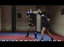 Тайский бокс Уроки - Смещение с линии атаки (тай сабаки, сайд степ)