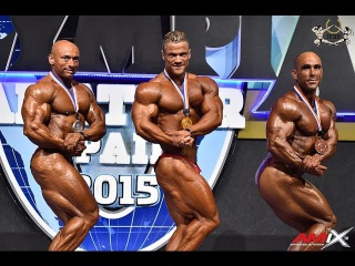 2015 Olympia Amateur SPAIN Bodybuilding up to 85kg SEMIFINAL