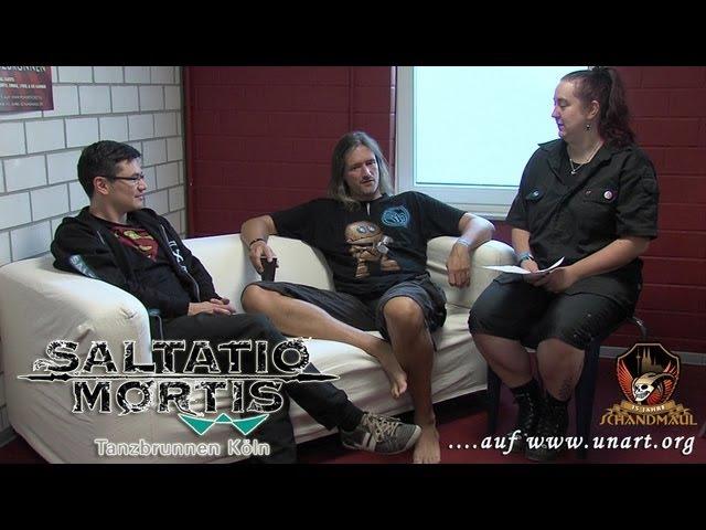 UnArt Live TV - Interview Saltatio Mortis, Köln 2013