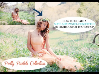 How to edit soft, pastel film images in Lightroom and Photoshop
