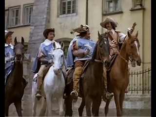 Д'Артаньян и три мушкетёра (все песни mix)