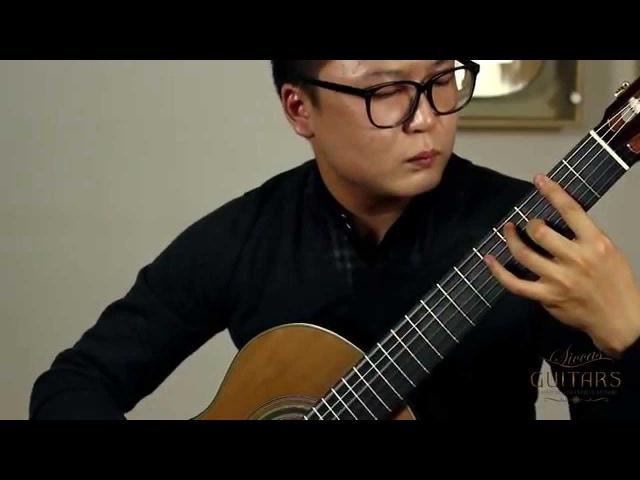 Xingye Li plays Etude No. 1 by Heitor Villa Lobos on a 2014 Roy Fankhänel guitar