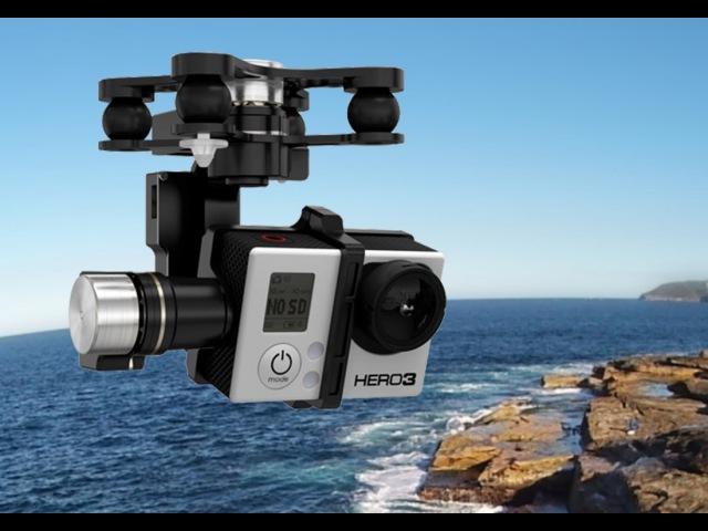 DJI Phantom 2 V2.0 Zenmuse H3-3D обновление прошивки и изменение углов наклона камеры.
