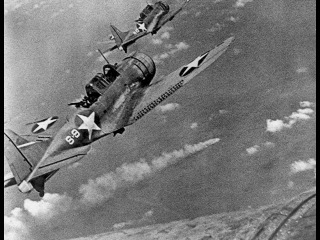 Битва у атолла  Мидуей.  Япония во Второй Мировой войне.