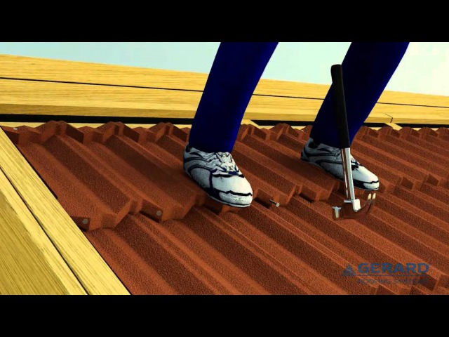02 INSTALLATION VIDEOS GERARD ROOFING SYSTEMS EUROPE - TILE LAYING