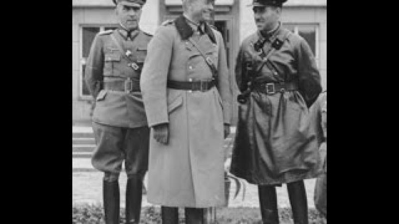 Совместный советско-немецкий парад в Бресте как доказательство сотрудничества ...