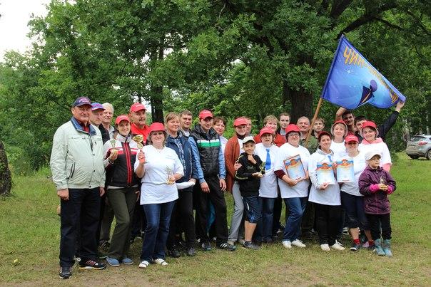 13-ый спортивно-туристический слет трудовых коллективов Сухиничского района