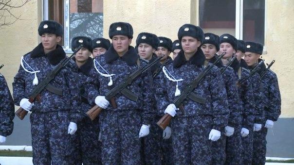 6506 әскери бөлімінің жас сарбаздары ант қабылдады