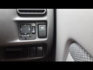 Автоблокировка дверей на Mazda Demio dw3w, кнопка открытия дверей. А также альтернатива кнопке птф и интервал дворников.