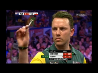 Australia vs Gibraltar (PDC World Cup of Darts 2015 / Second Round)