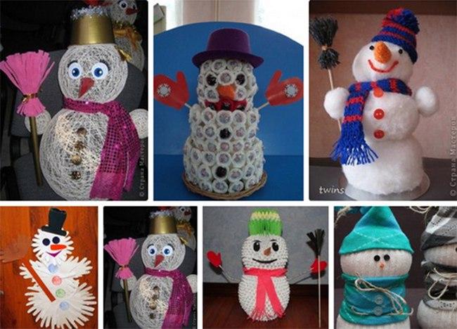 600 снеговиков из разных районов Ростовской области привезли на «Новогоднюю ярмарку»