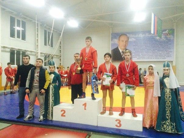 Таганрожец Николай Галочкин завоевал бронзу на турнире по самбо в Адыгее