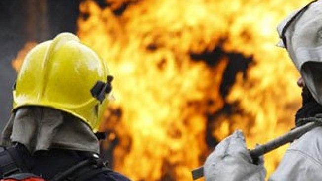 На выходных под Таганрогом горели баня и частный дом