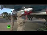 Су 34 в Сирии с ракетами воздух воздух