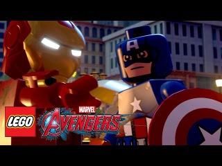 LEGO Marvels Avengers / ЛЕГО Мстители 2015 HD Трейлер