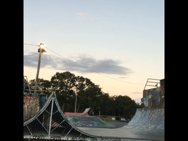 "Logan Martin on Instagram ""Throwback to a run I did in this mini ramp last year sometime, I wish this ramp was still rideable!!"""