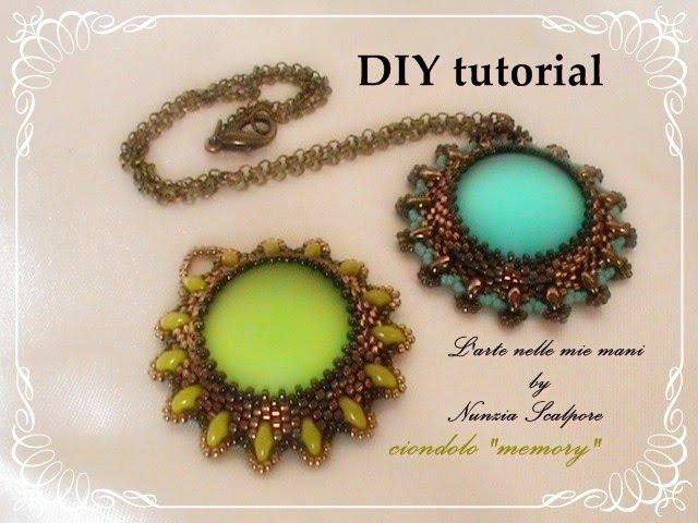 DIY tutorial: ciondolo Memory