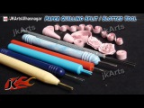 HOW TO Use Paper Quilling Split  Slotted Tool - JK Arts 459