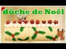 Bûche de Noël - Gâteau roulé avec un imprimé - Roll Cake - Carl Arsenault