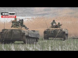 Эксклюзив. Репетиция массированного контрнаступления армии ДНР