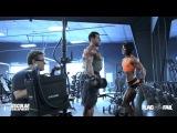 Дана Линн Бейли качает дельты, тренировка плечи для девушек - Фитнес Леди