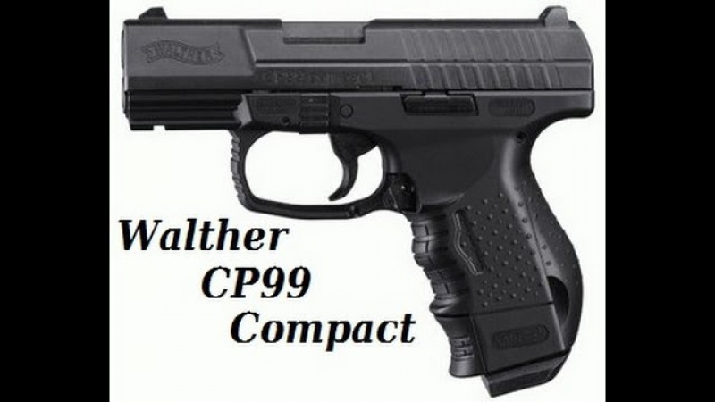 Обзор на Walther CP99 Compact