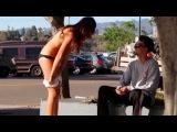 Girl Strips NAKED for MONEY (GONE SEXUAL) - Gold Digger Prank - Kissing Prank - Hot Girls Nude Prank