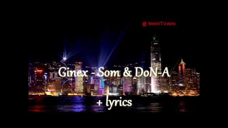 [Rap] Ginex - Som DoN-A