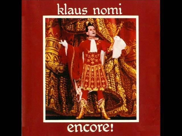 Klaus Nomi ° Encore! FULL ALBUM