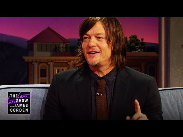 The Walking Dead Pranks Exploding Crossbow Arrows w/ Norman Reedus